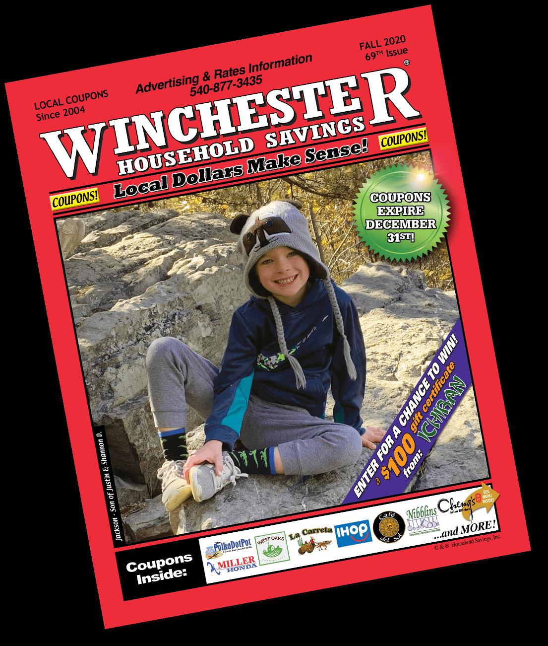 Winchester Household Savings Magazine - Fall 2020 Edition